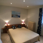 Room in double bed configuration