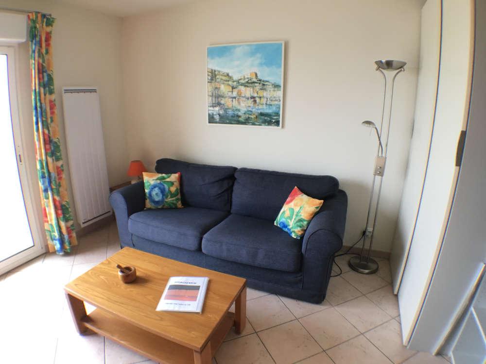 Living room side sofa bed