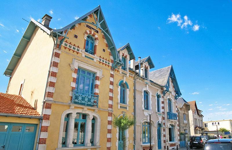 Maisons typiques Châtelaillon-Plage